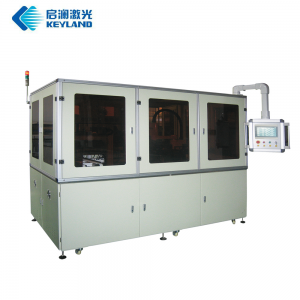 Full automatic solar cell laser scribing machine